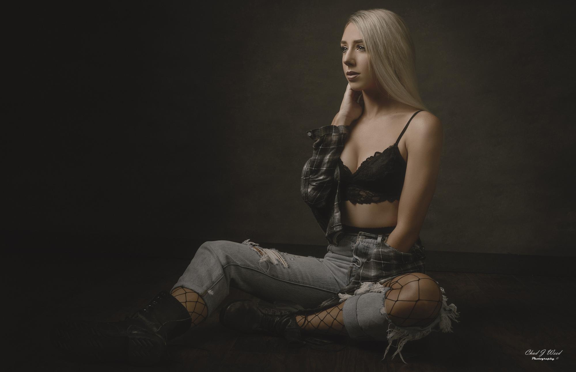 Arizona Portrait Photographer Chad Weed with Arizona Model Ashlyn