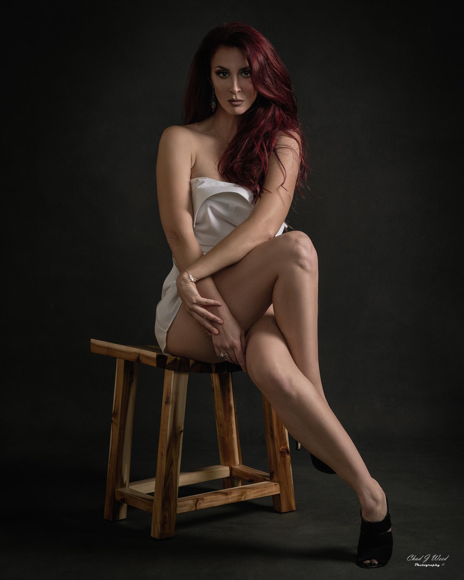 Arizona Fashion Portrait Photographer Chad Weed - Fashion Model Elley