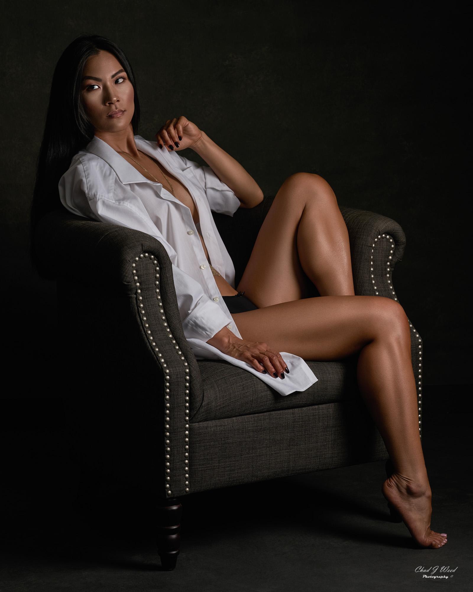 Arizona Fashion Portrait Photographer Chad Weed - Fitness Model Lora