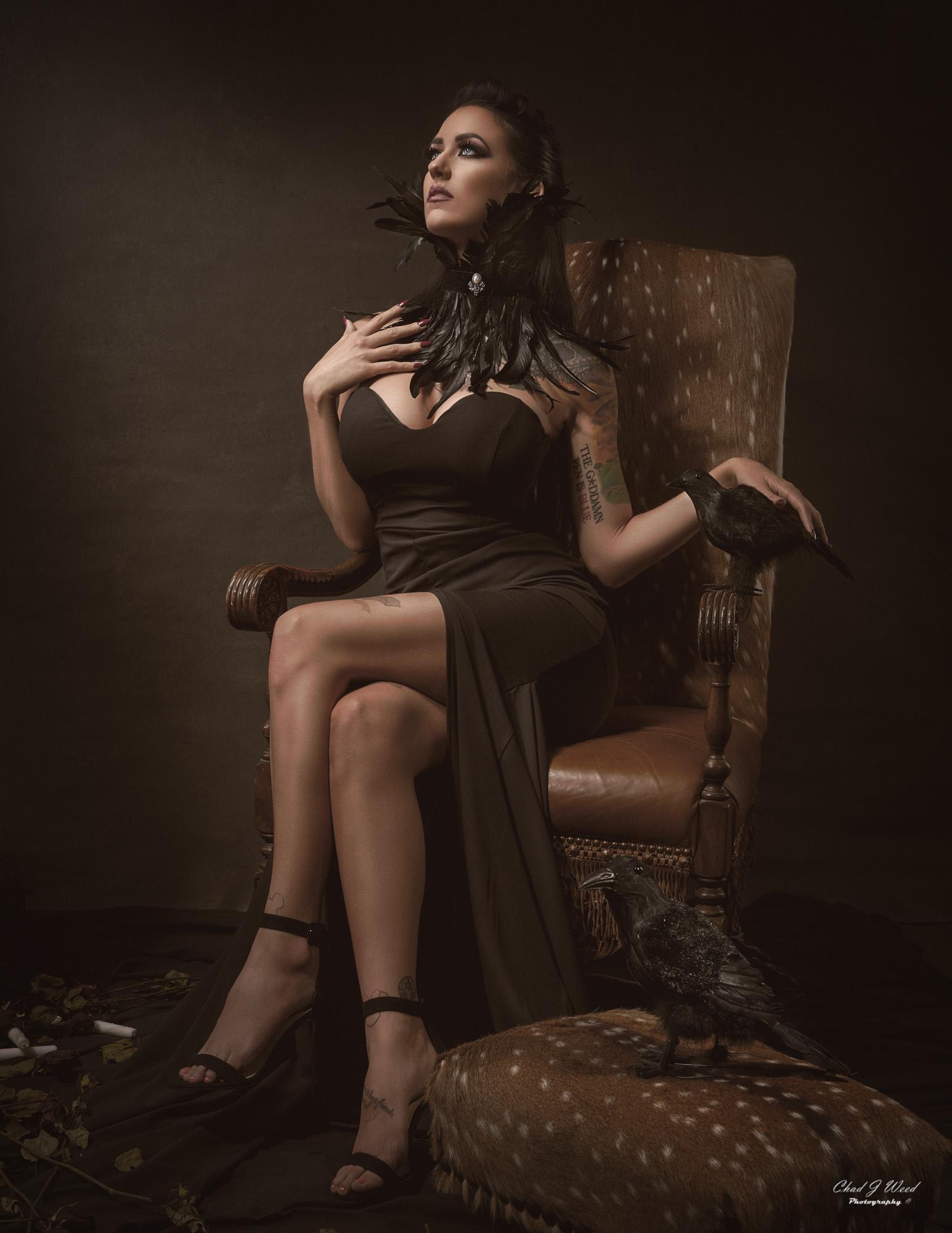 Halloween Theme with Fashion Model Lynda by Mesa Arizona Fashion Photographer Chad Weed
