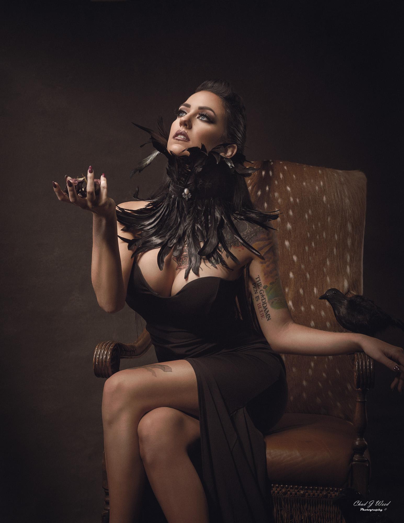 Halloween Theme with Fashion Model Lynda and Arizona Fashion Photographer Chad Weed