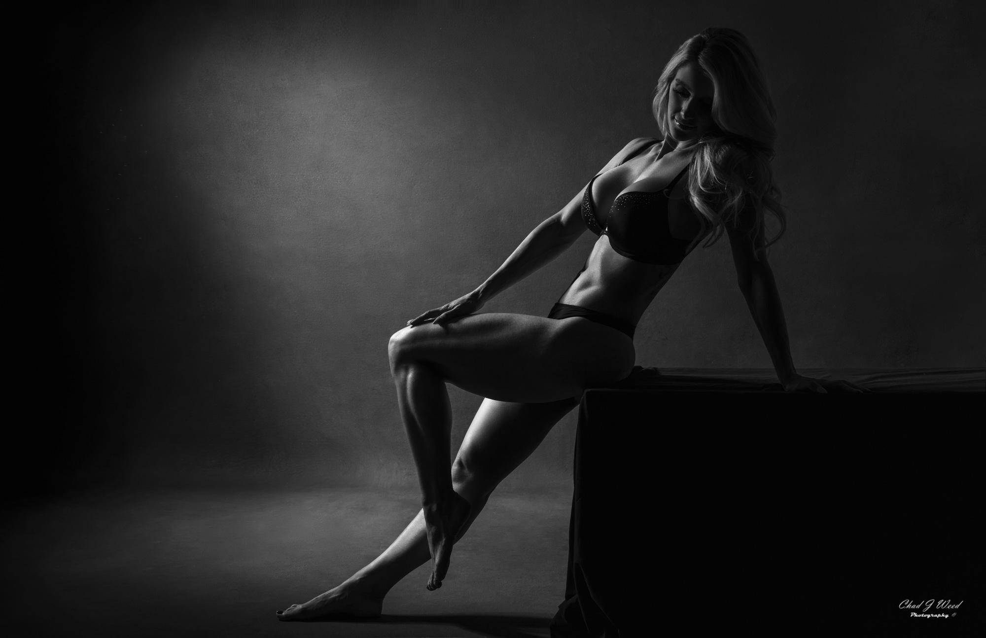 Mesa Arizona Fashion Photographer Chad Weed with Fitness Model Kristi