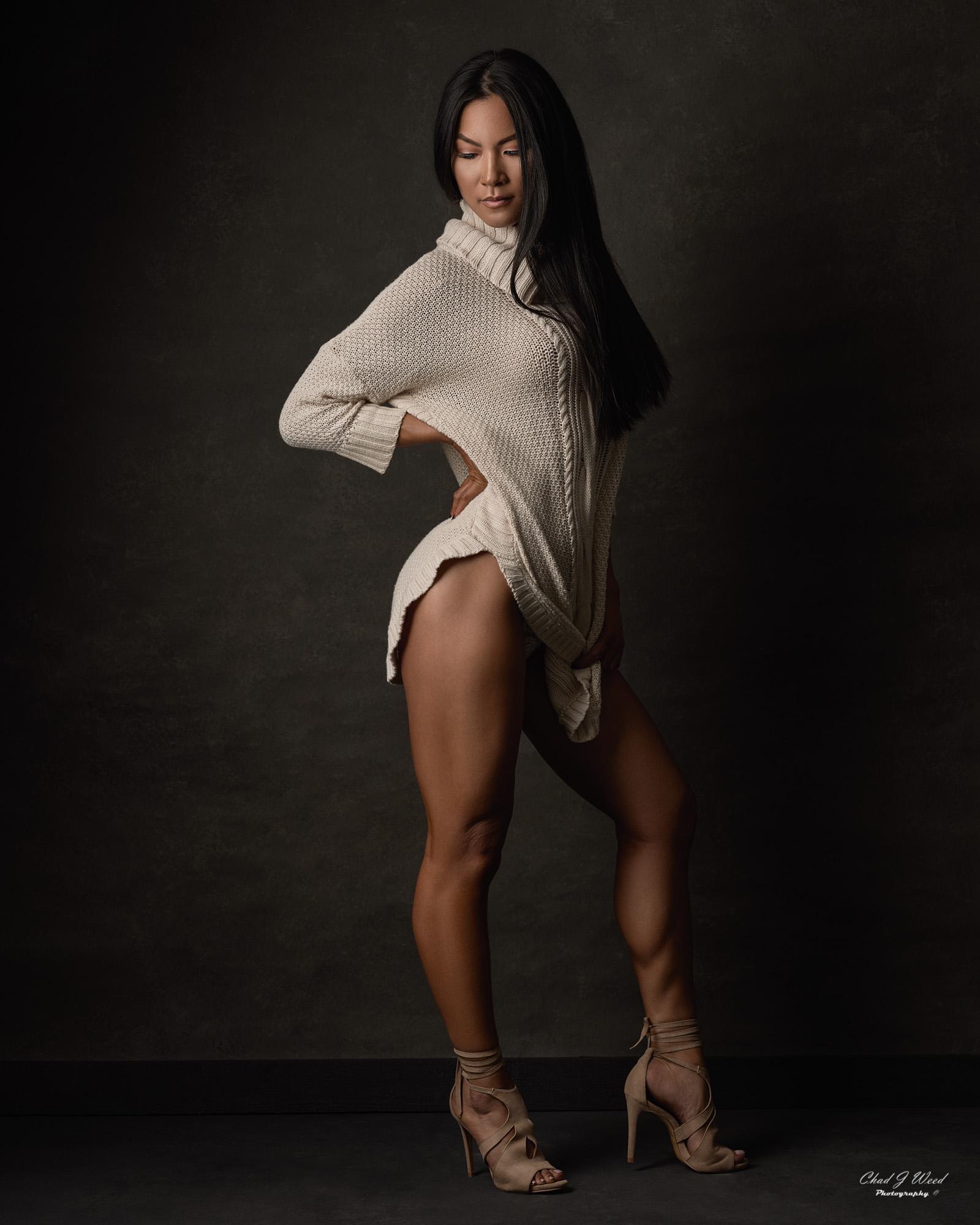 Mesa Arizona Fitness Model Photographer Chad Weed with Fitness Bikini Model Lora