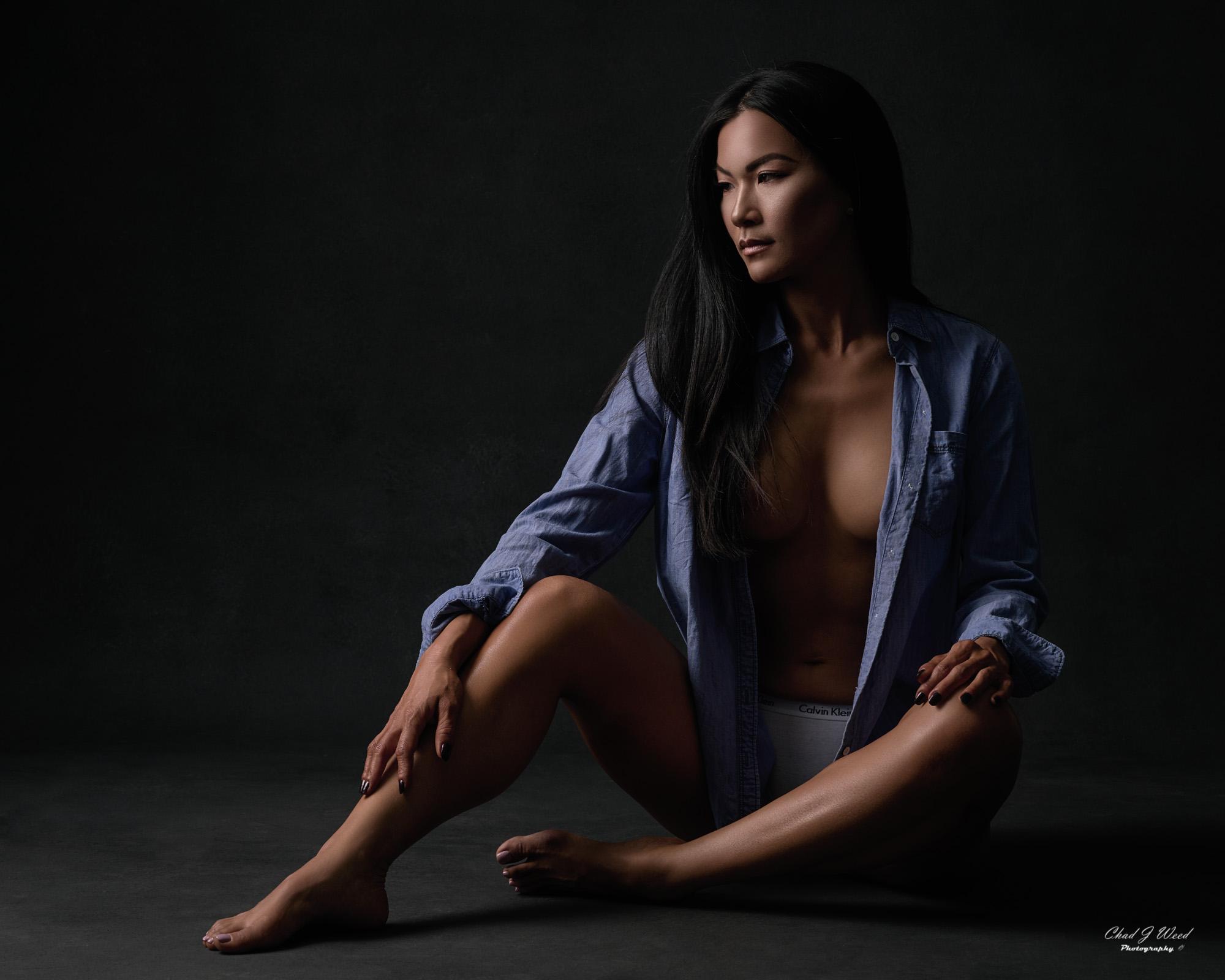 Mesa Arizona Fitness Model Photographer Chad Weed with Bikini Model Lora