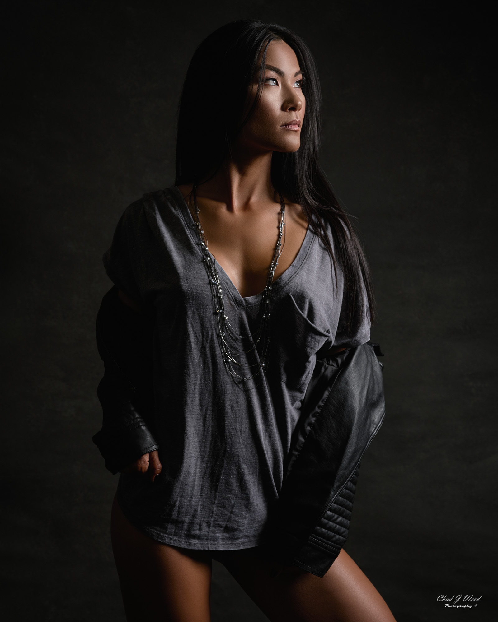Mesa Arizona Fitness Photographer Chad Weed with Fitness Model Lora