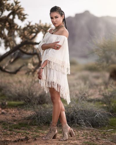 Mesa Arizona Portrait Photographer Chad Weed and Arizona Model Zari