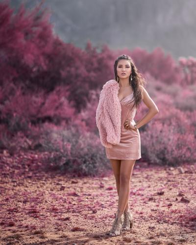 Mesa Arizona Fashion Photographer Chad Weed and Glamour Model Zari