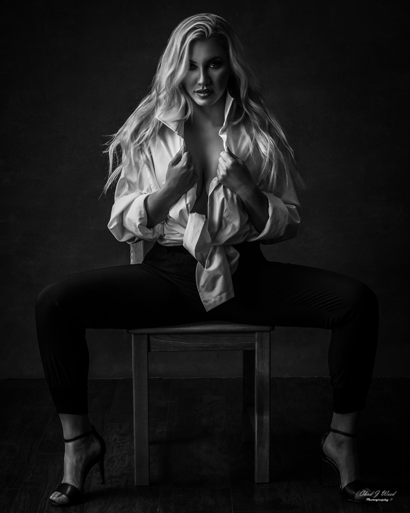 Mesa Arizona Glamour Portrait Photographer Chad Weed with Miss Wyoming Lexi Hill