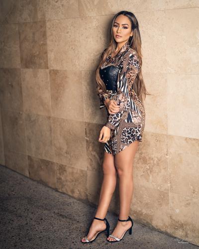 BAC Lounge Tempe Arizona Fashion Photographer Chad Weed with Fashion Model Samantha