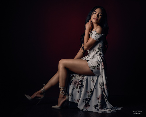 Mesa Arizona Beauty Portrait Photographer Chad Weed with Model Alondra
