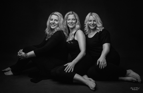 The Sisters by Mesa Arizona Family Portrait Photographer Chad Weed