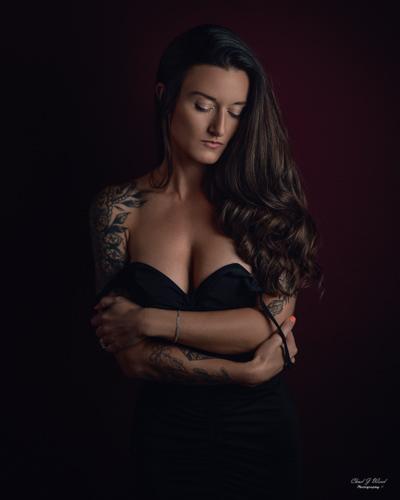 Mesa Arizona Beauty Portrait Photographer Chad Weed with Arizona Model Kristi