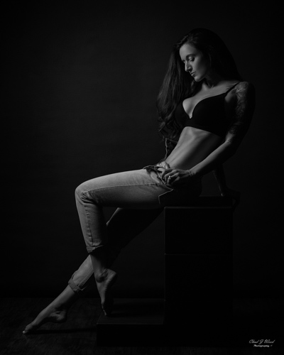 Mesa Arizona Fitness Glamour Photographer Chad Weed with Kristi