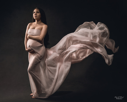 Mesa Arizona Maternity Photographer Chad Weed with Mommy To Be Mercedes