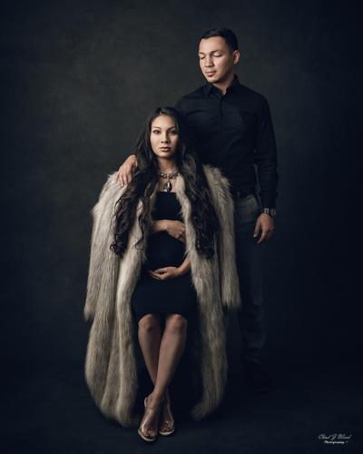 Mesa Arizona Family Maternity Photographer Chad Weed with Mercedes