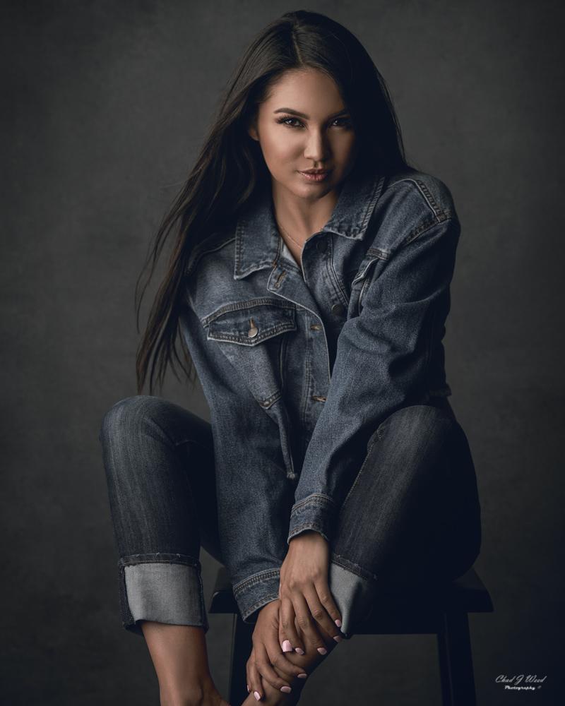 Zari Fashion Portrait by Chad J Weed Photography in Mesa, AZ