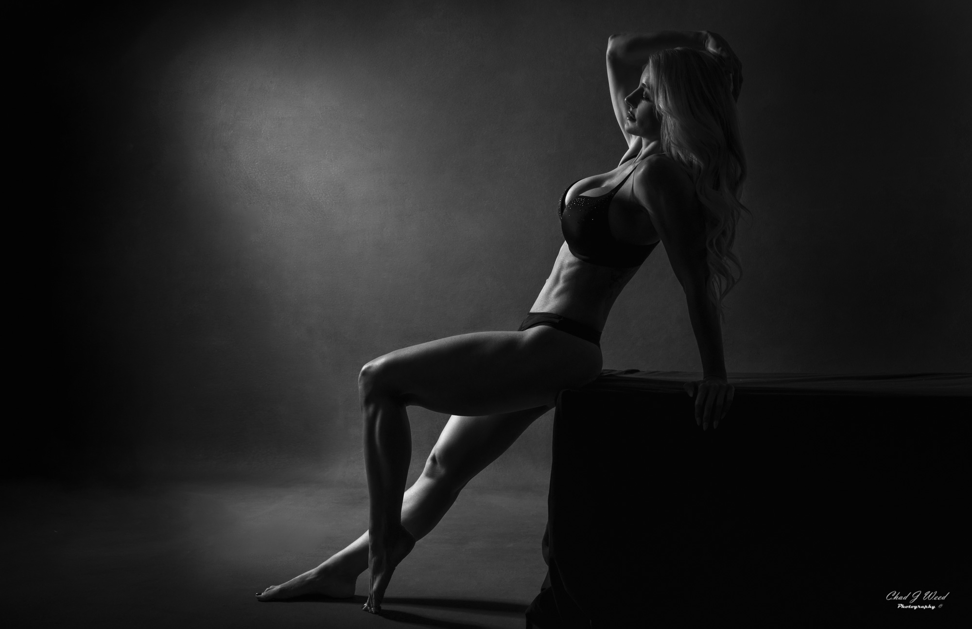 Kristi Fitness Glamour Portrait by Chad J Weed Photography