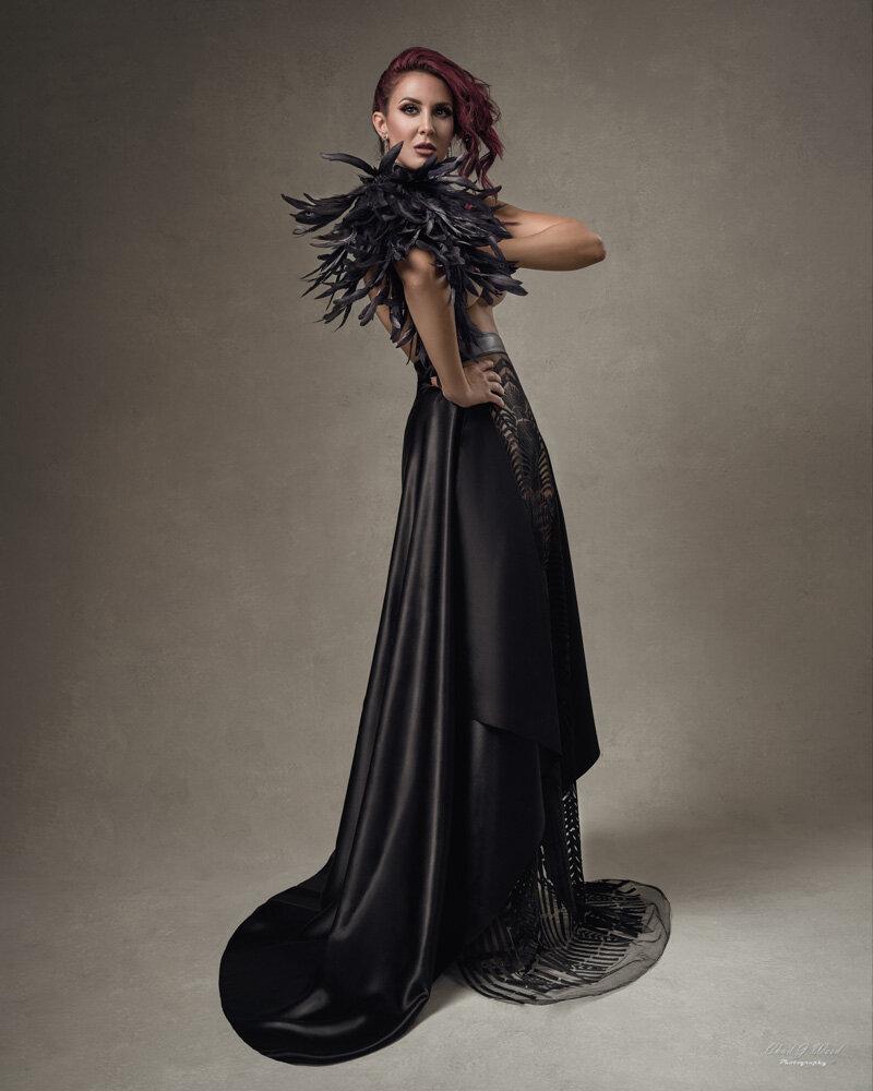 Mesa Arizona Fashion Photographer Chad J Weed Photography with Model Elley