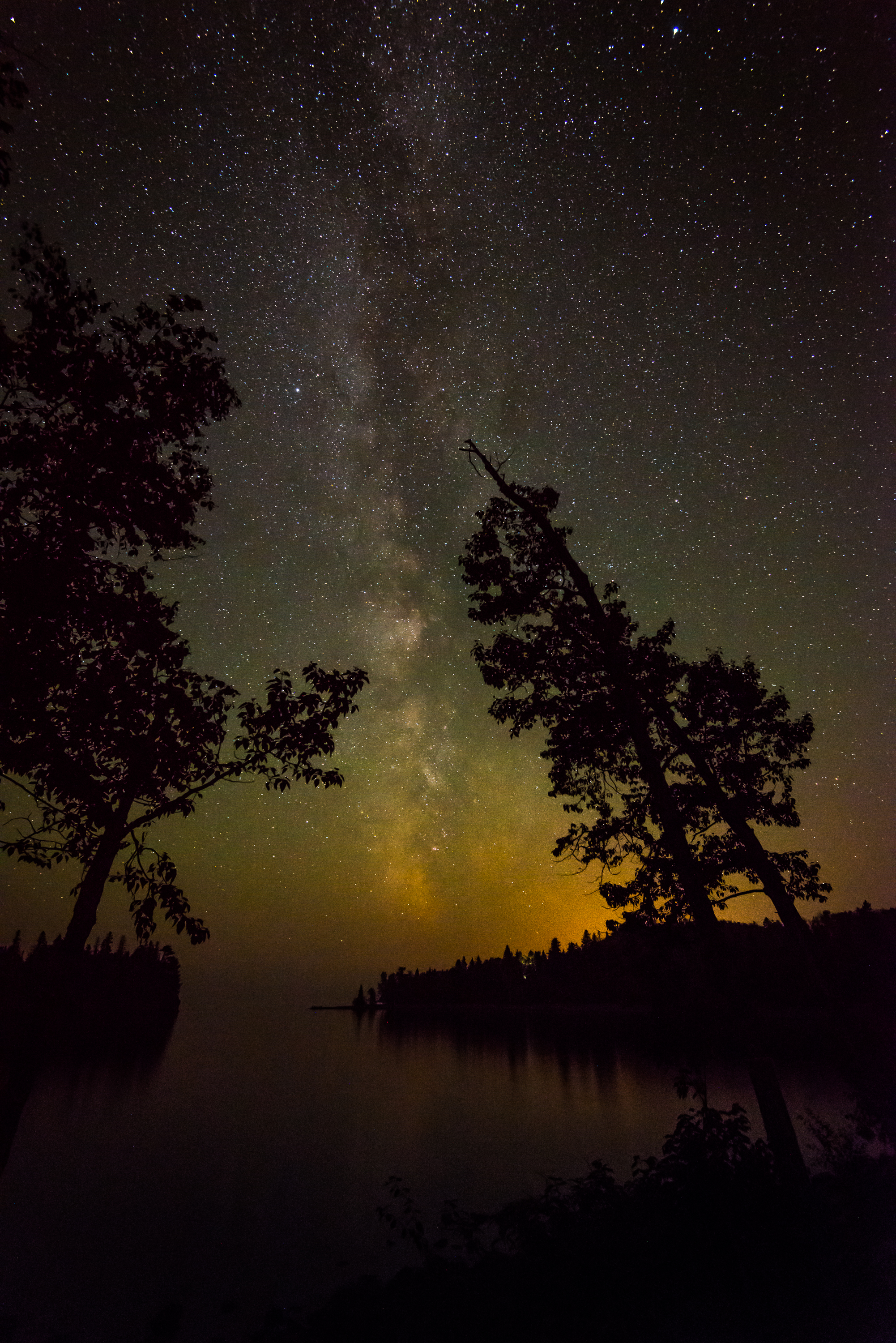 Milky Way at Split Rock
