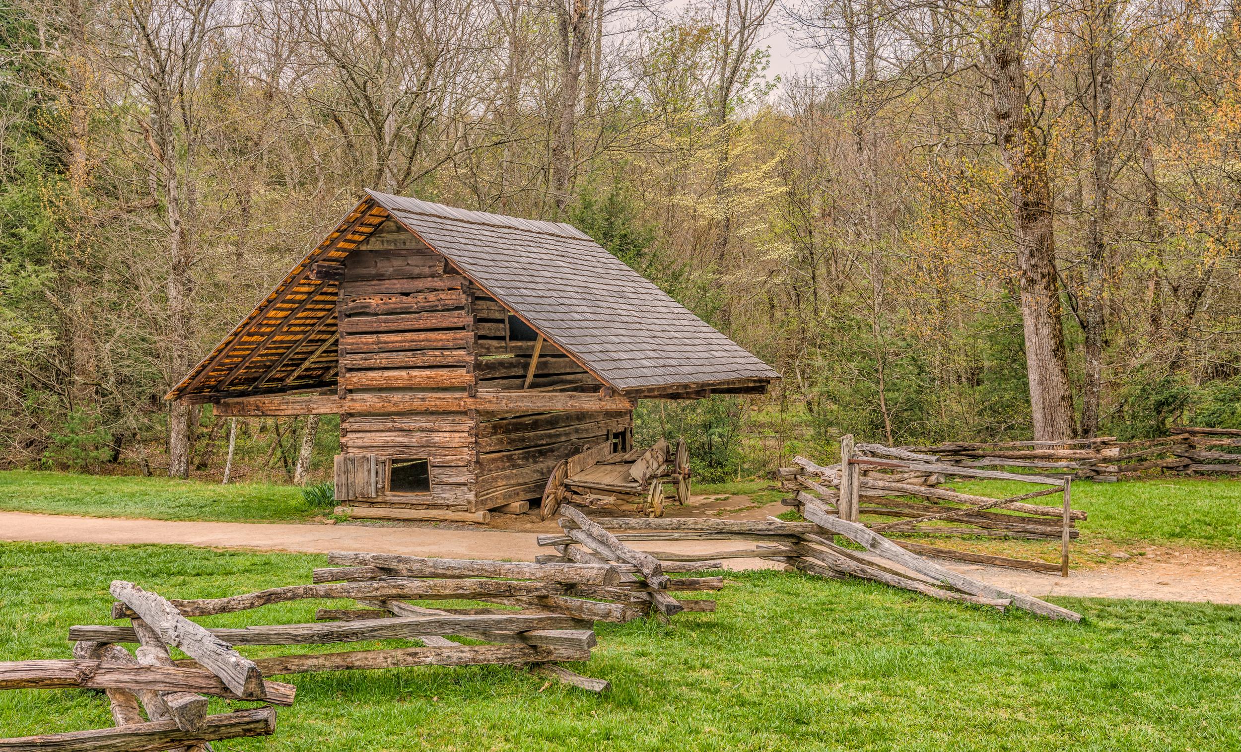Old Barn at Cades Cove