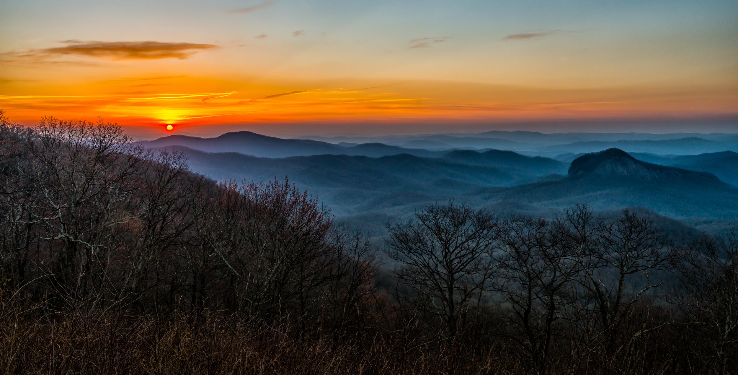 Sunrise on Blue Ridge
