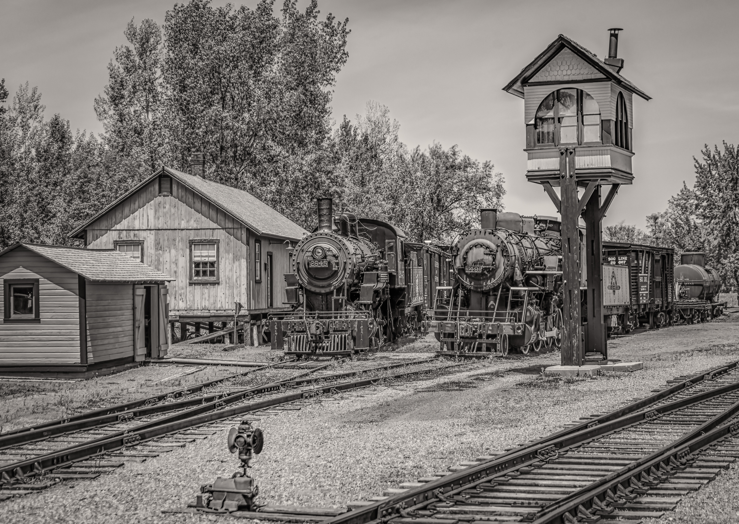 Trains at Freedom