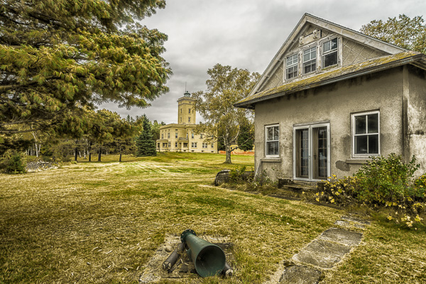 Five Mile Point Lighthouse