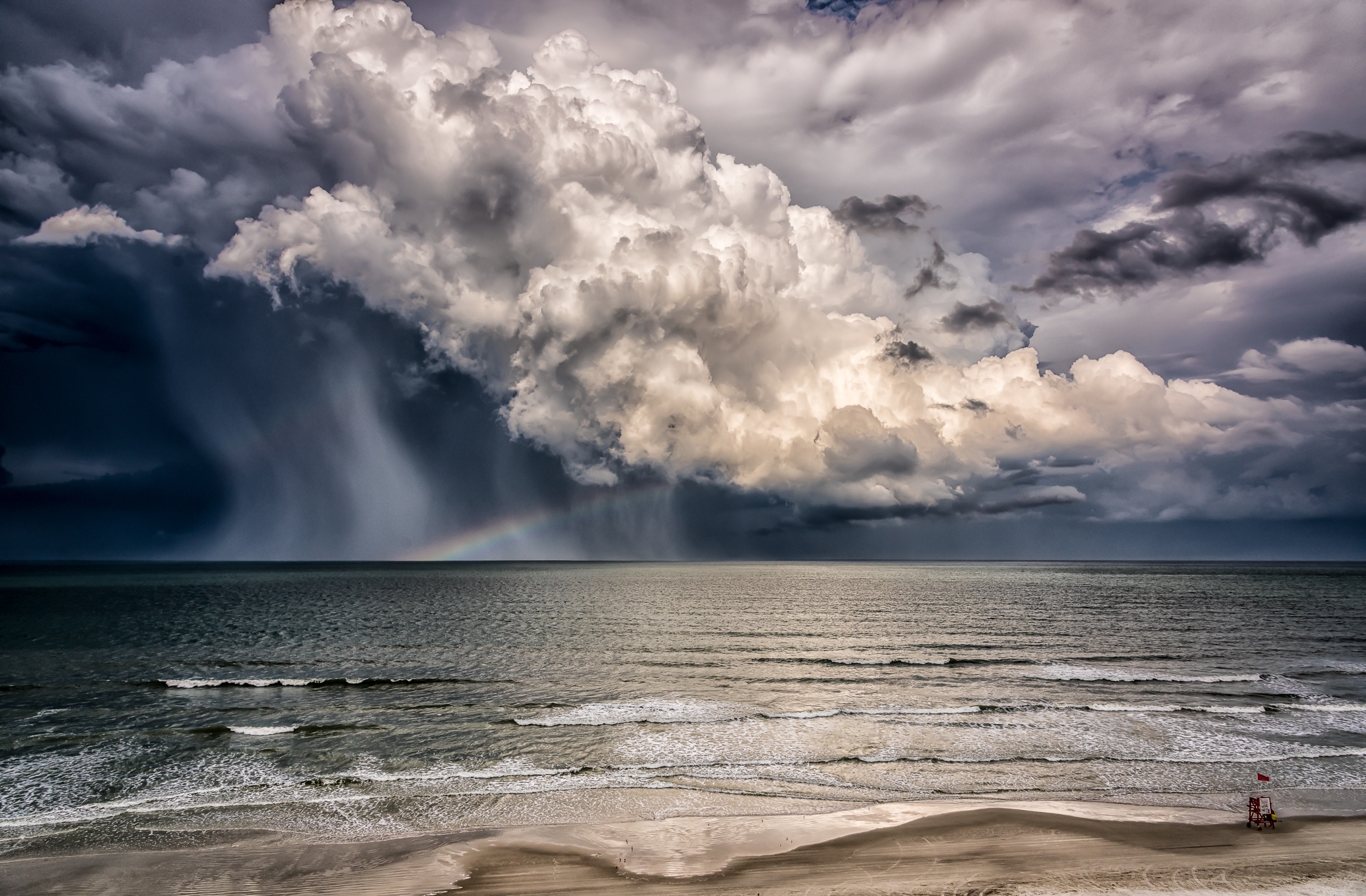 Storm at New Smyrna Beach