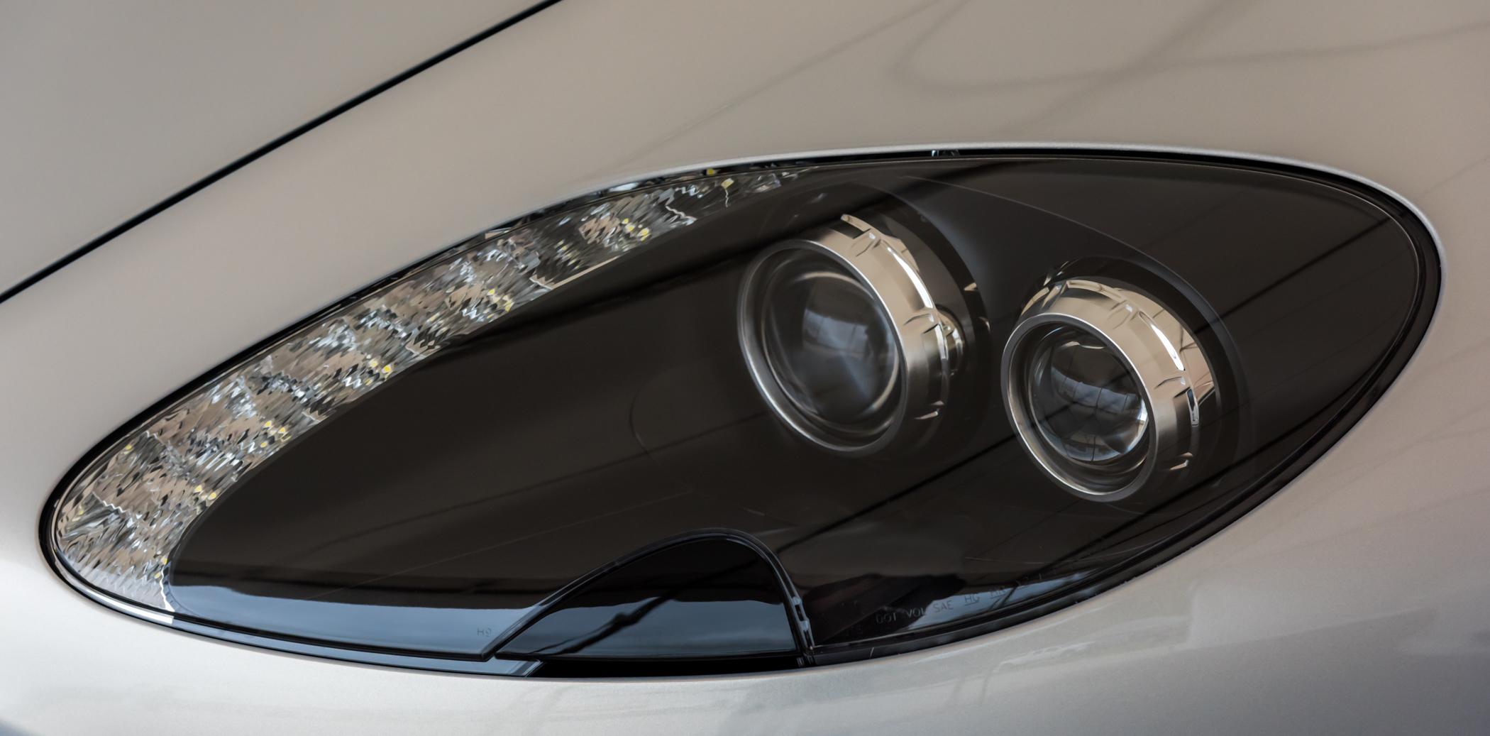 Aston Martin Headlamp