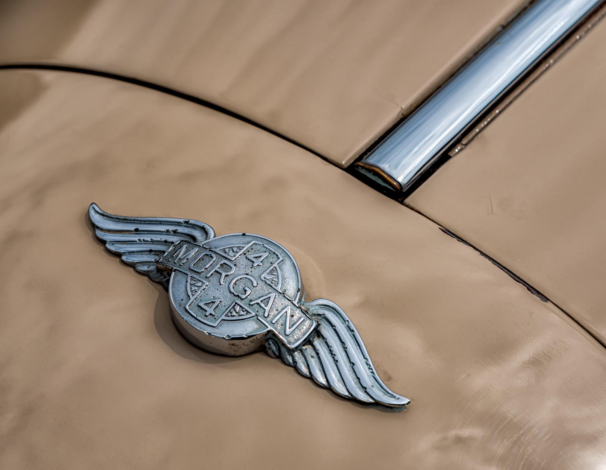 Morgan 4 Emblem