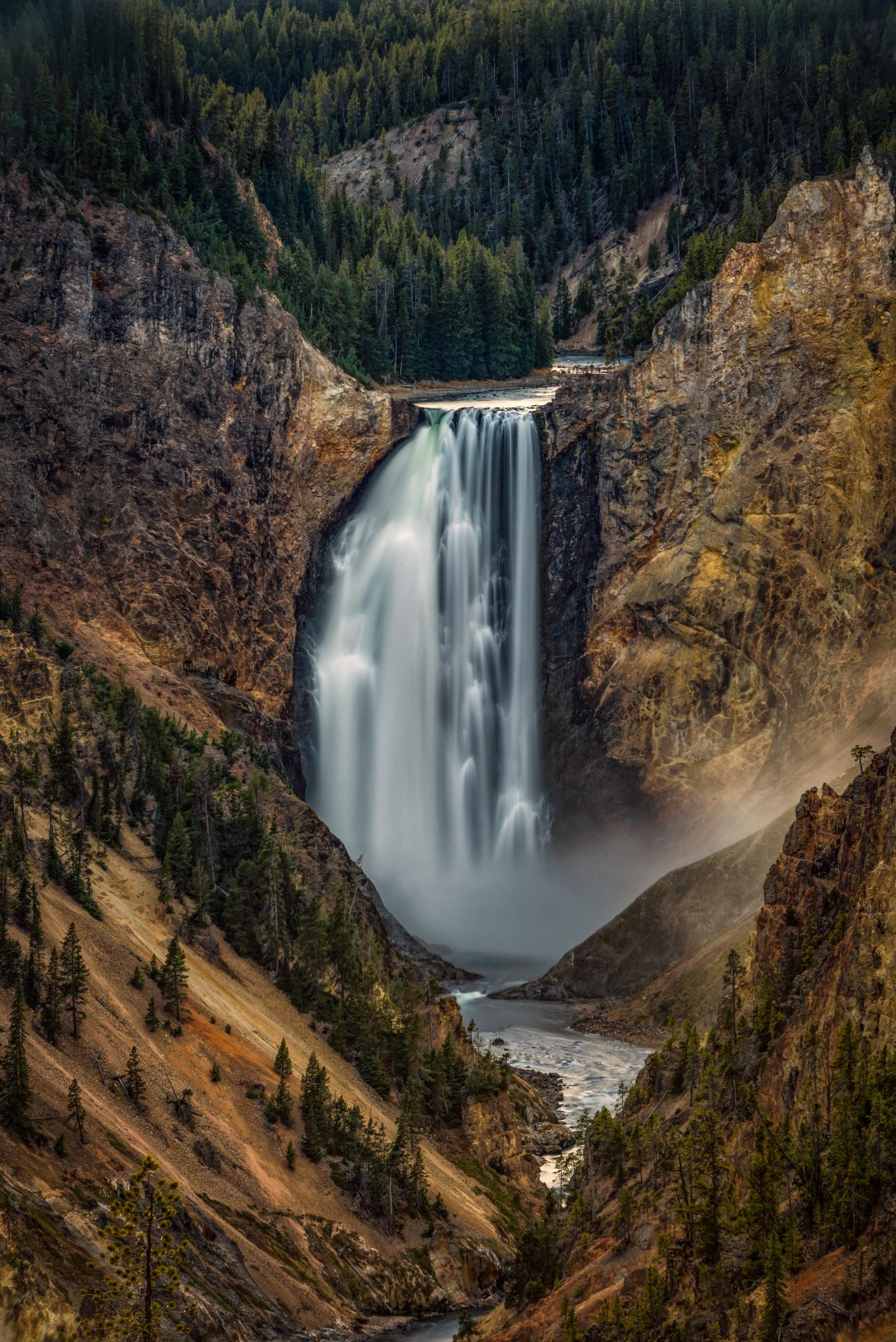 Lower Falls of Yellowstone 2