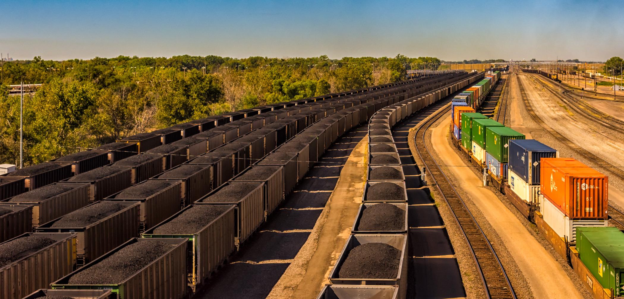 Trains at North Platte