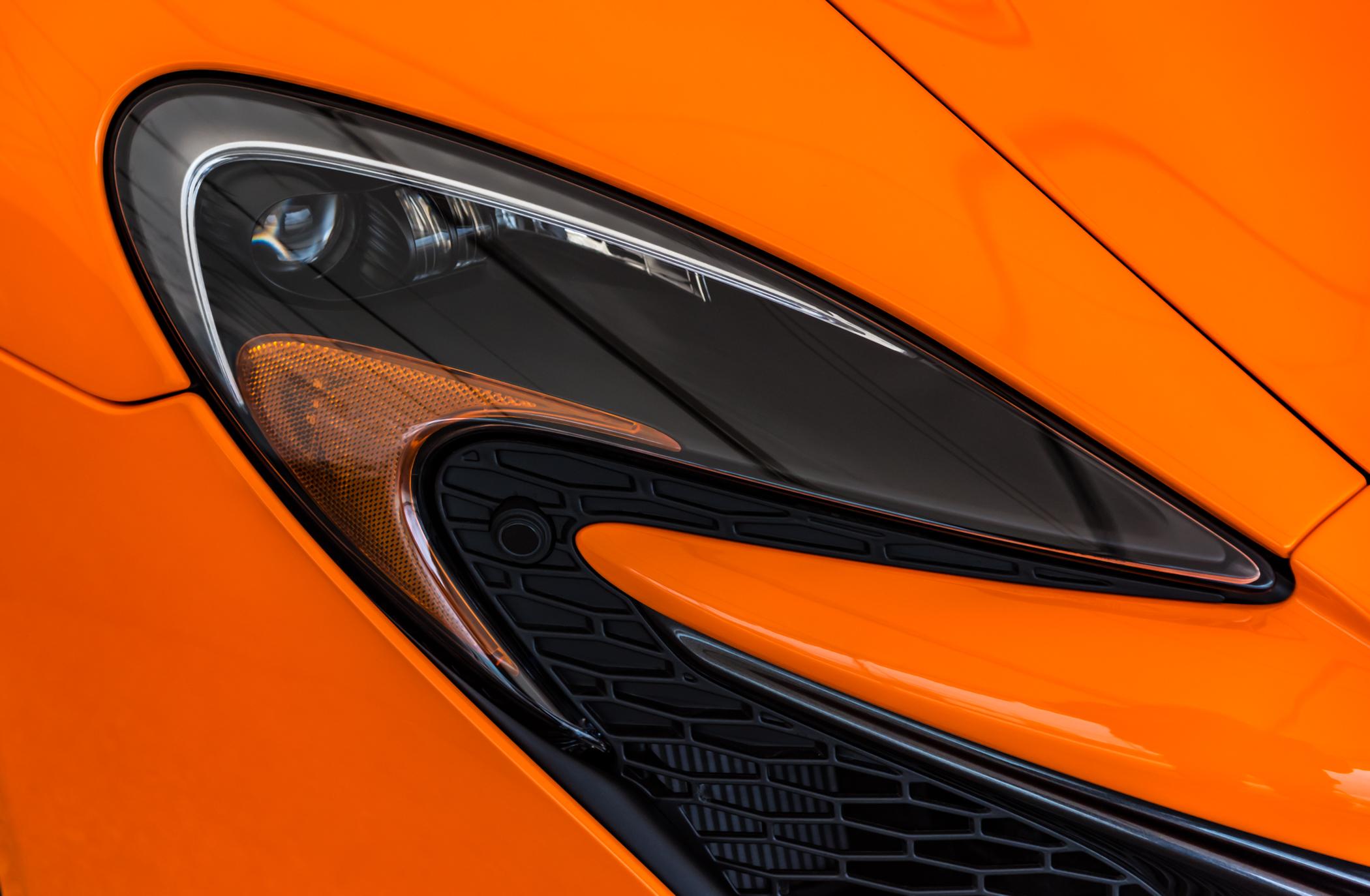 McLaren Headlight