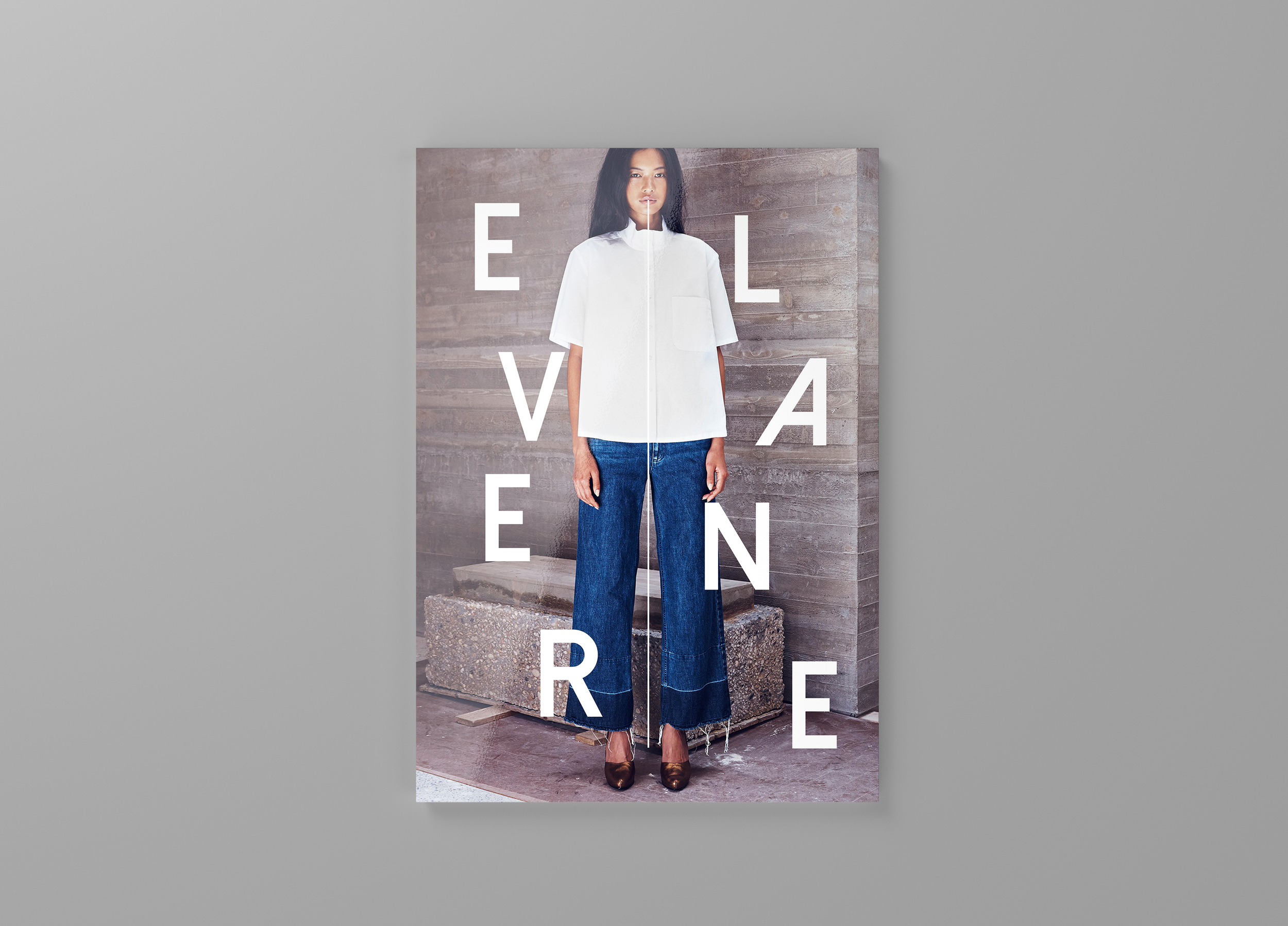 This project was created solely by Brynn McKinstry for Professional Portfolio Practices. It was based off the online retailer, Everlane , and how they can expand upon their current product offering to include up-cycled denim jeans.