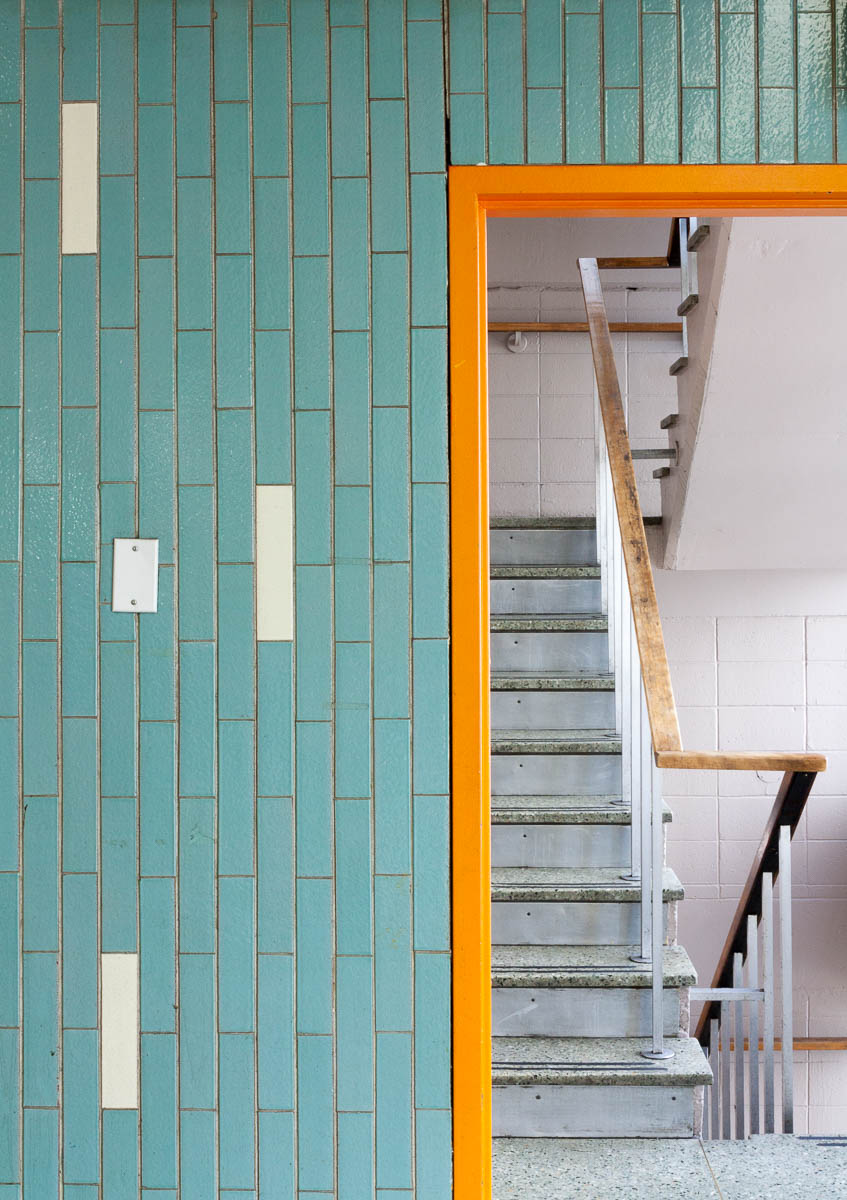 Stairwell, Vancouver, 2014