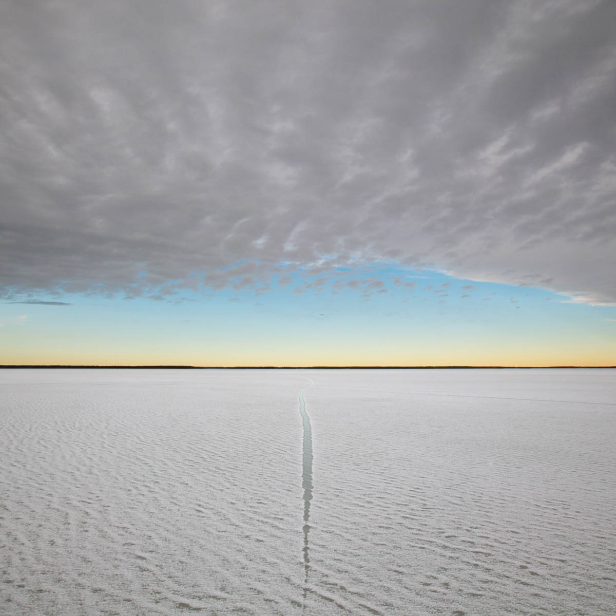 Crack in the Ice, Cooking Lake, 2004