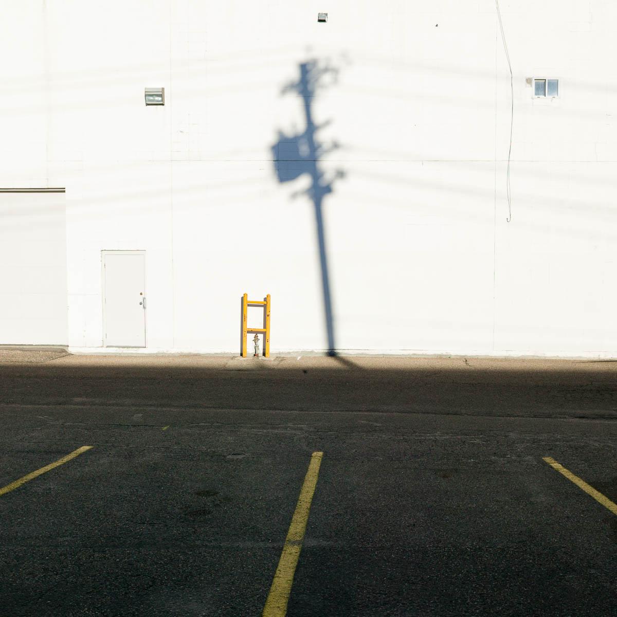 Alley Shadow, Edmonton, 2006