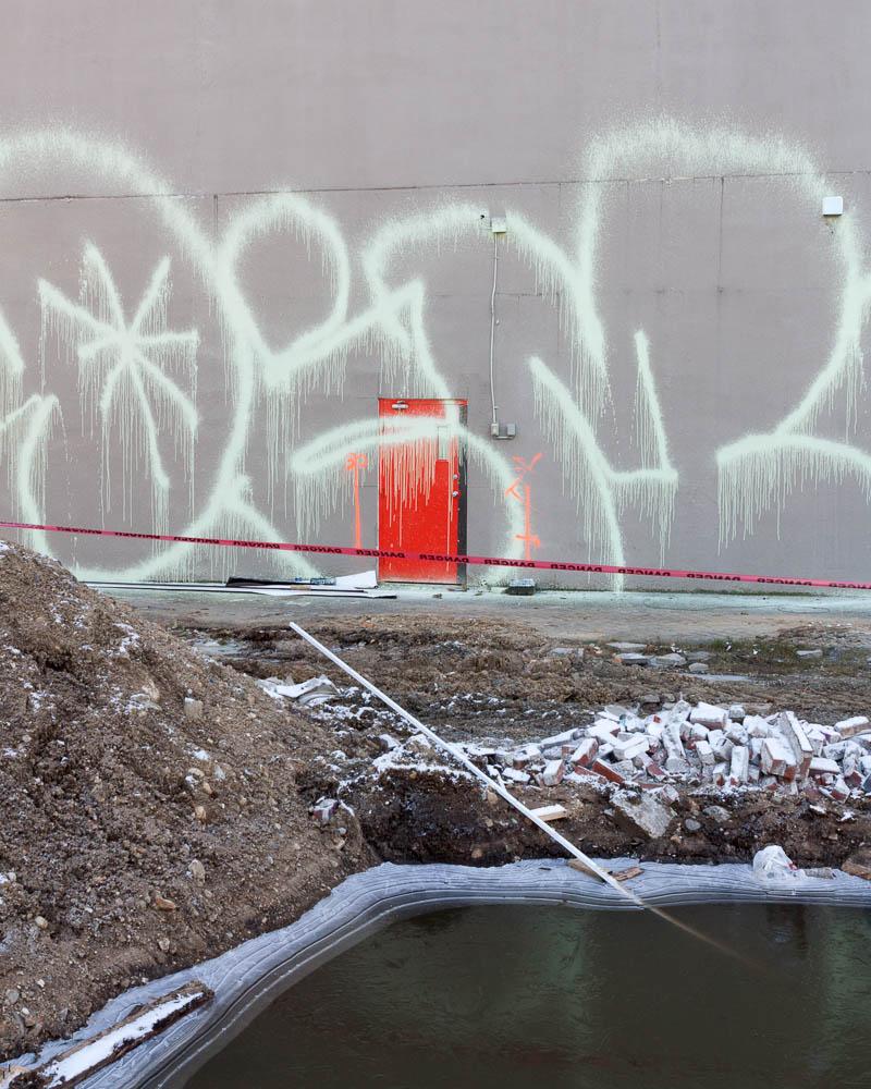 Demolition Site, Vancouver, 2014