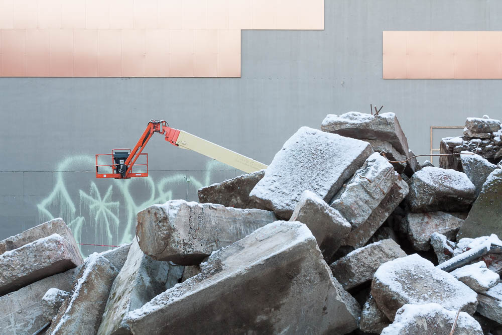 Frosted Rubble, Vancouver, 2014