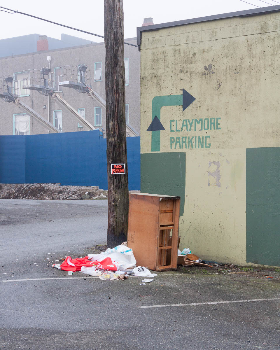 Claymore Parking, Vancouver, 2013