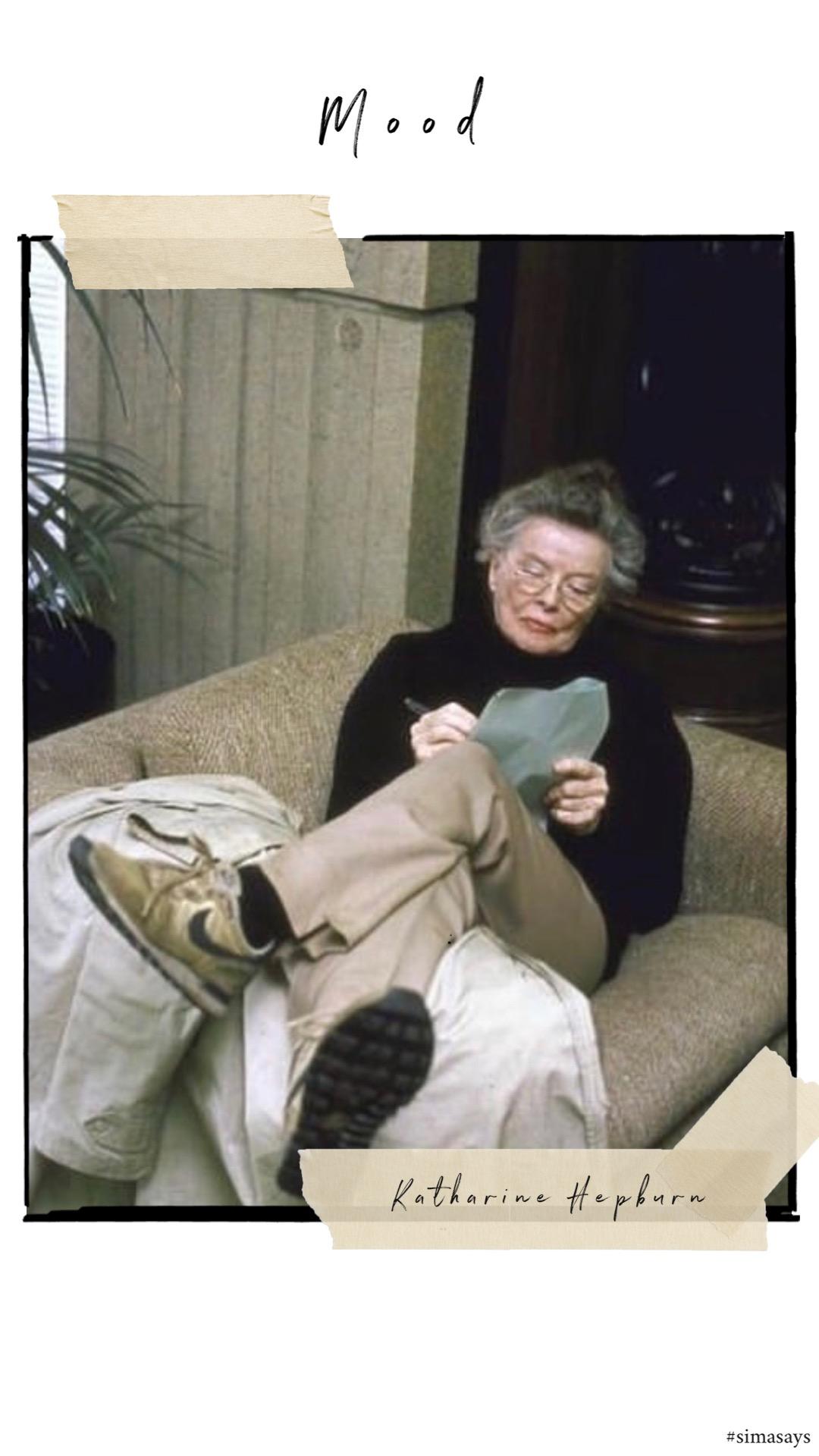 Katharine Hepburn Nike