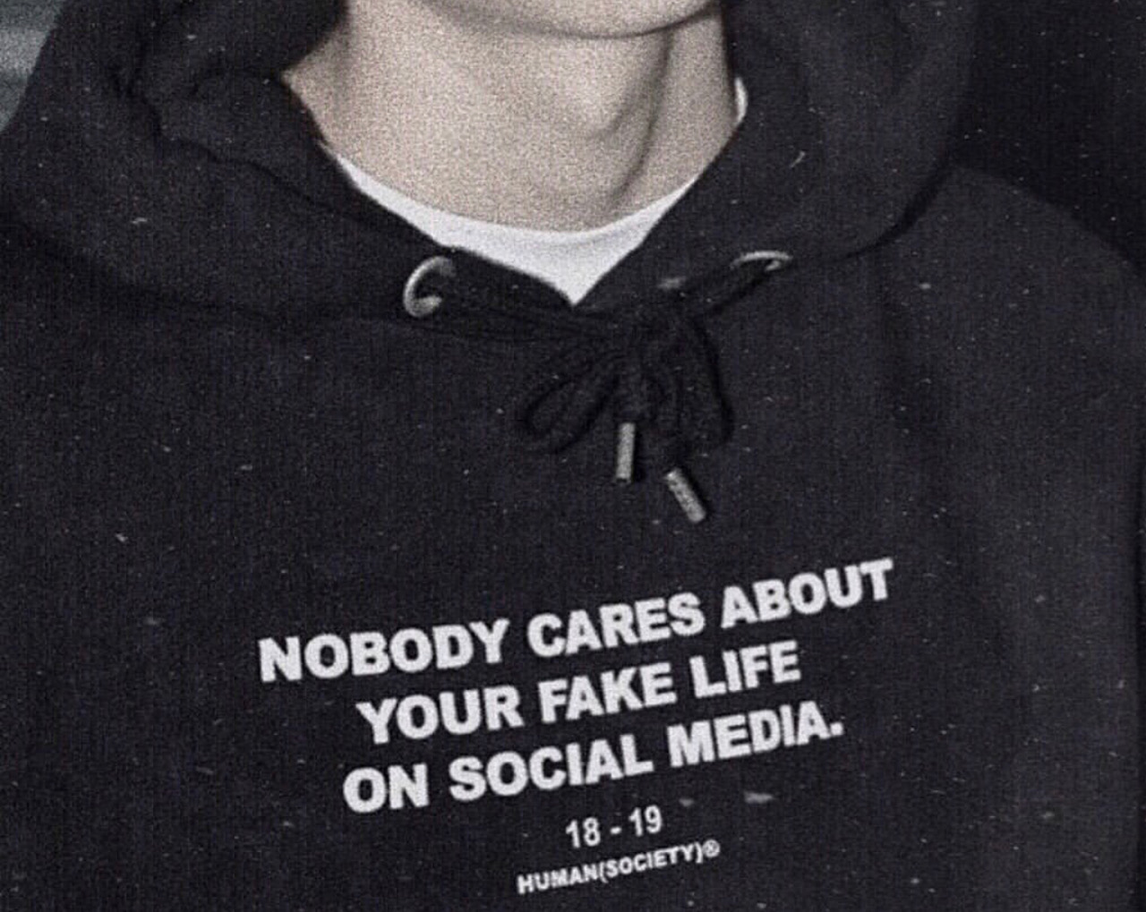 Nobody cares about your fake life on social media