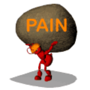 People with BPD often feel as though they are carrying their pain  like a heavy stone. No matter what they do,  they cannot let go of the stone.