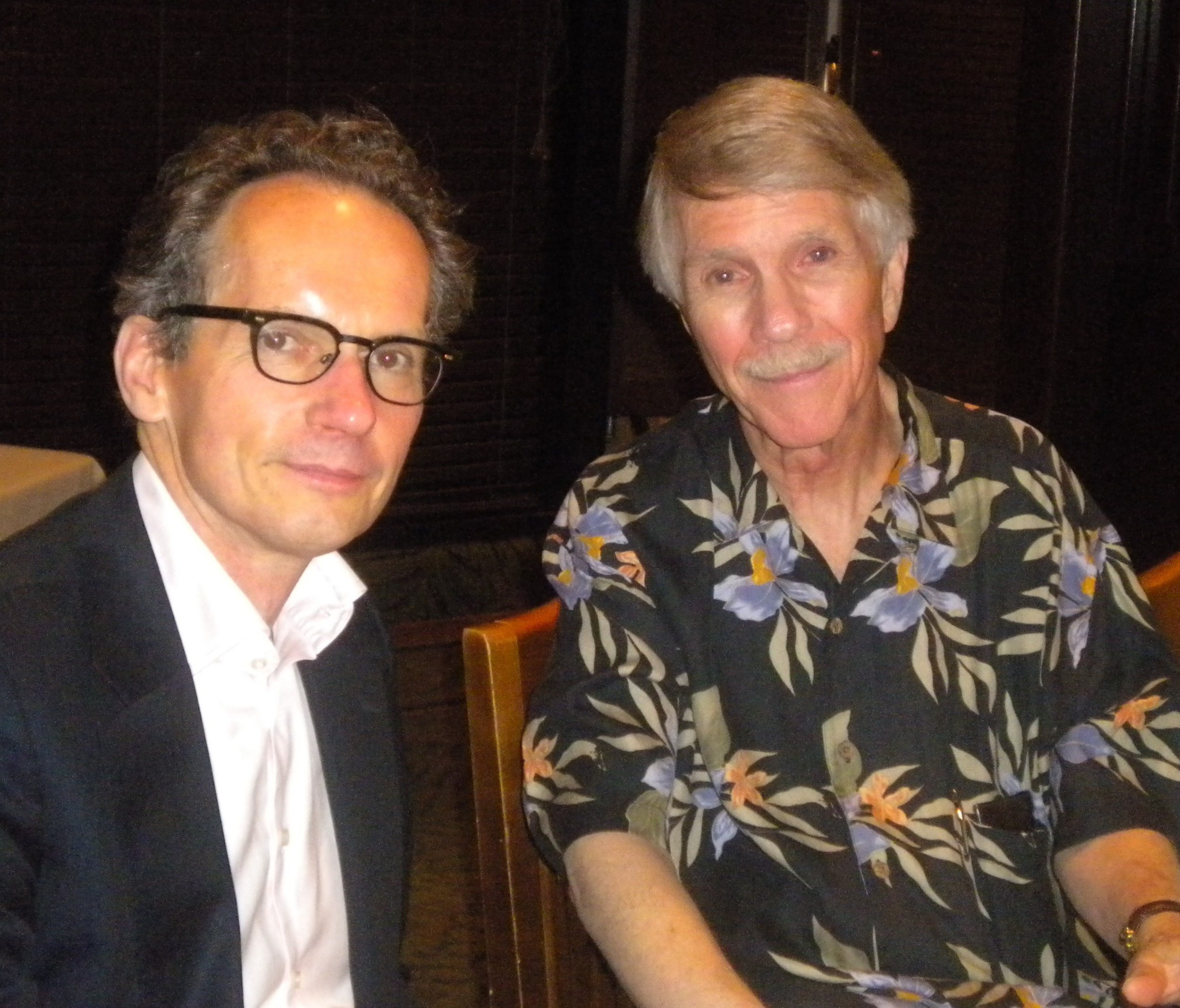 tom rinne and john oldham at the apa in hawaii, 2011