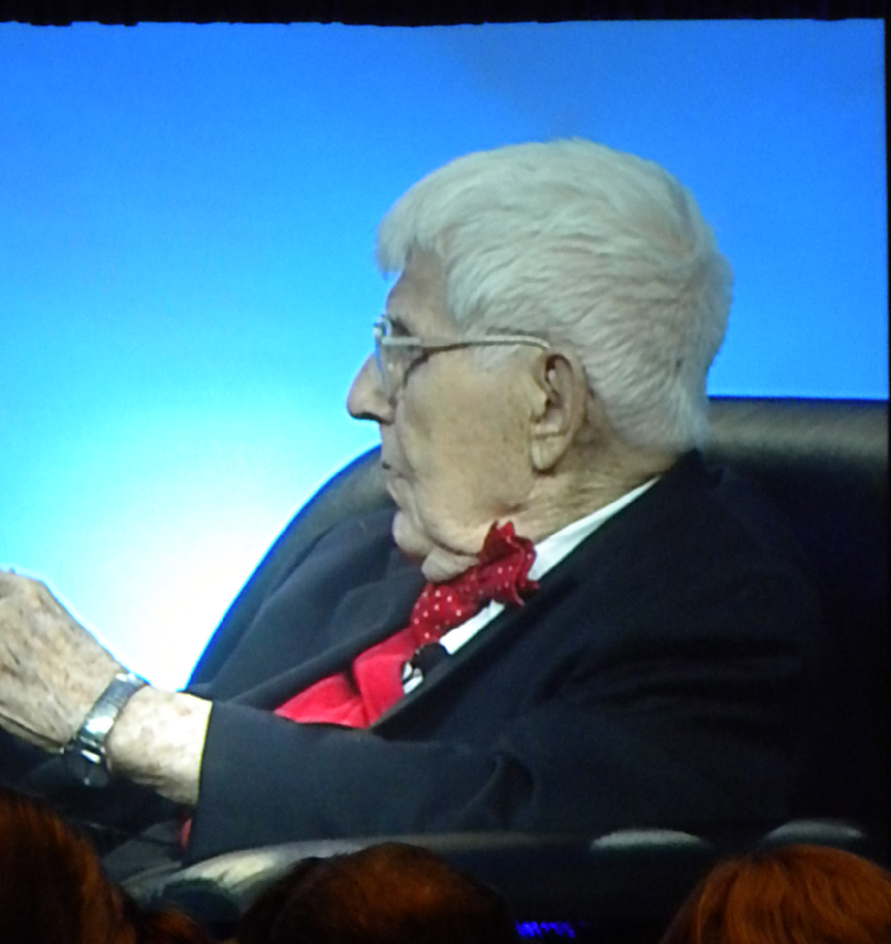 AAron beck speaks at the apa in hawaii, 2011