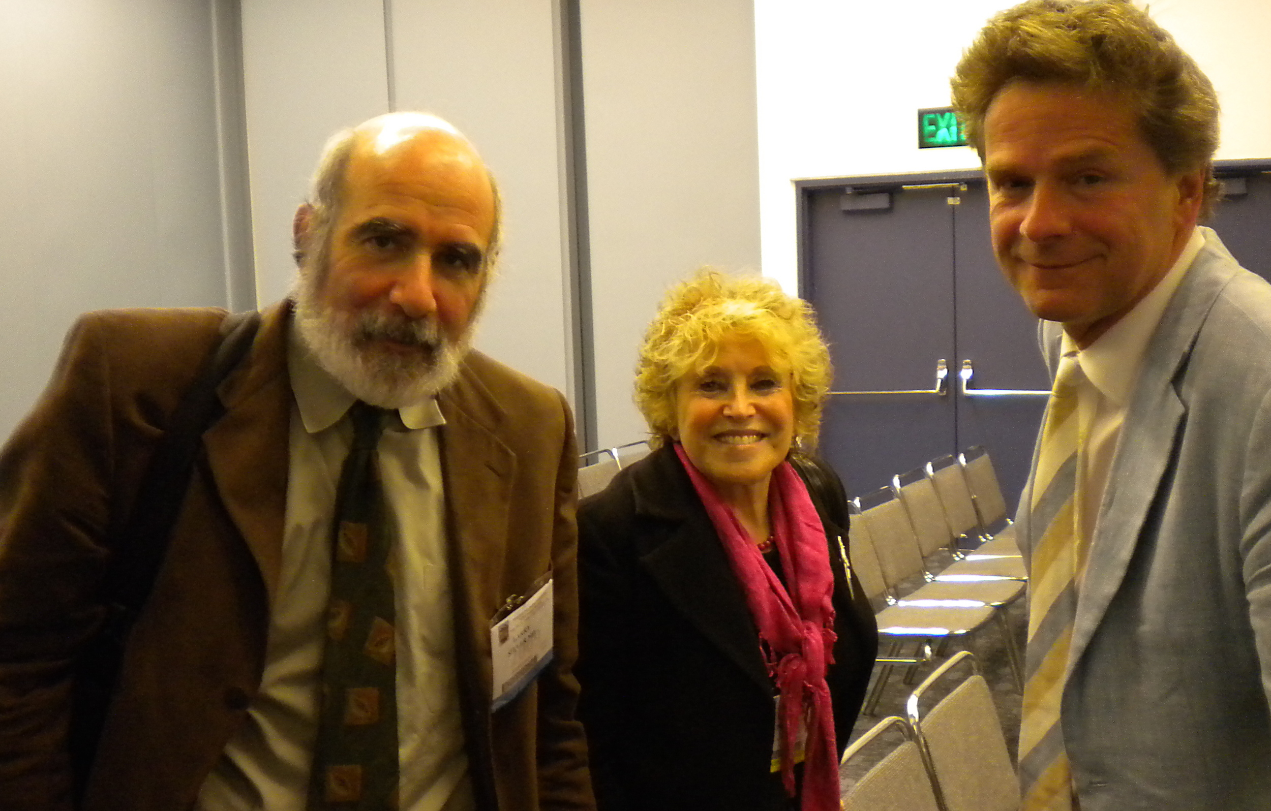 larry siever, valerie porr and martin bohus at the apa, 2009
