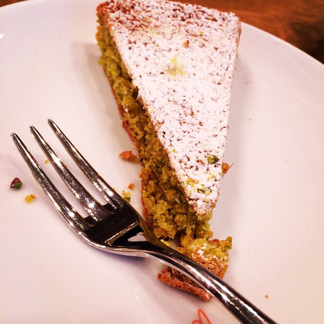 Amazing pistachio pie