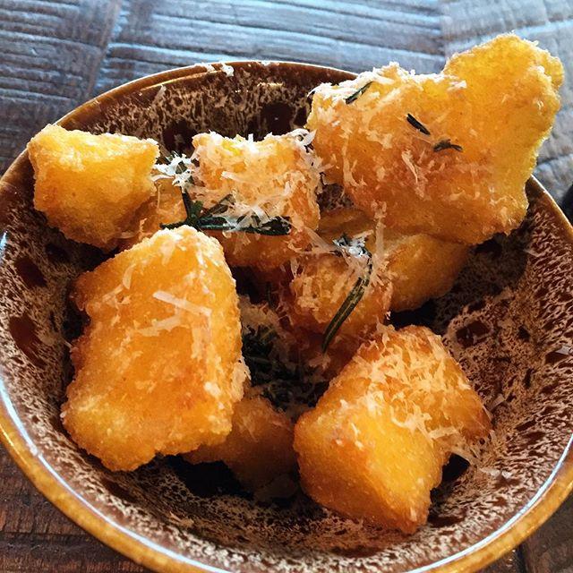 Confort food: fried polenta 🍴 great food never needs filter...