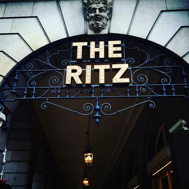 Where to? The Ritz, if you please...