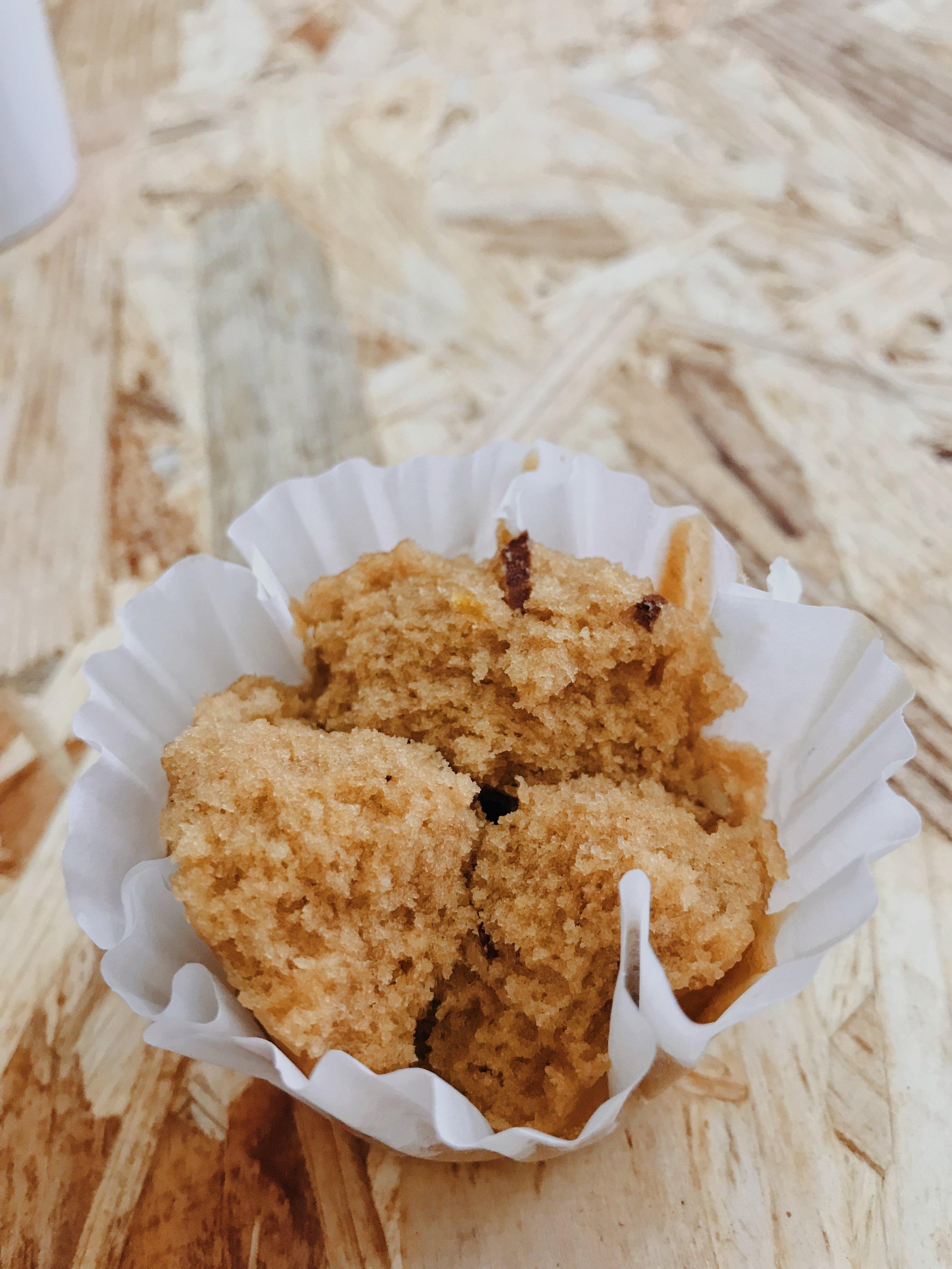 muffins ao vapor